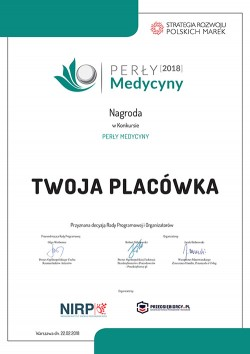 dyplom2018 perly medycyny
